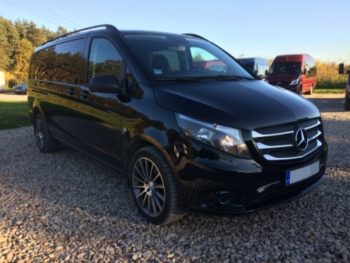 Mercedes Vito Long 8+1 Black