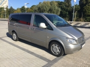 Mercedes Vito Long 8+1 Silver